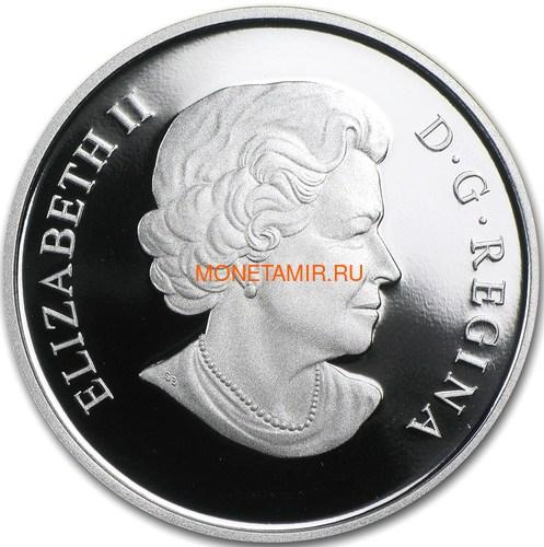 Канада 25 долларов 2011 Уэйн и Уолтер Гретцки Хоккей (Canada 25$ 2011 Wayne and Walter Gretzky 1oz Silver Coin).Арт.000560649500/60 (фото, вид 1)