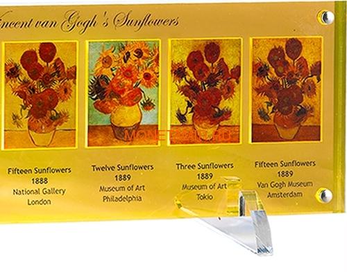 Ниуэ 5 долларов 2013 Подсолнухи Винсент ван Гог Набор 7 Монет (Niue 5$ 2013 Vincent van Gogh Sunflowers 125th Anniversary 7 Silver Coin Set).Арт.4313743217 (фото, вид 2)