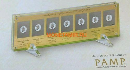 Ниуэ 5 долларов 2013 Подсолнухи Винсент ван Гог Набор 7 Монет (Niue 5$ 2013 Vincent van Gogh Sunflowers 125th Anniversary 7 Silver Coin Set).Арт.4313743217 (фото, вид 3)