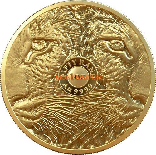 Южная Африка 50 рандов 2020 Леопард Большая Африканская Пятерка (South Africa 50 Rand 2020 Leopard Big Five 1oz Gold Coin).Арт.92 (фото, вид 1)