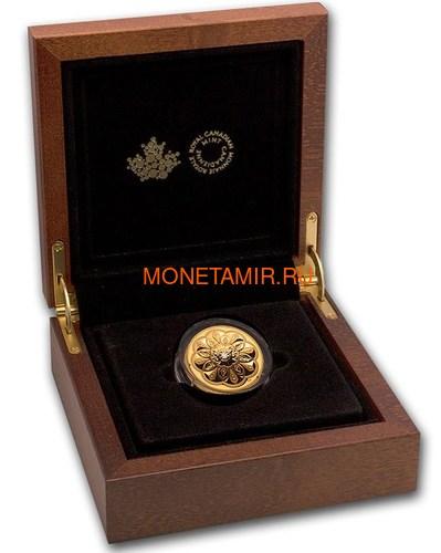 Канада 200 долларов 2020 Бриллиант Черная Метка Круг ( Canada 200$ 2020 Forevermark Black Label Round Diamond 1oz Gold Coin ).Арт.92 (фото, вид 3)