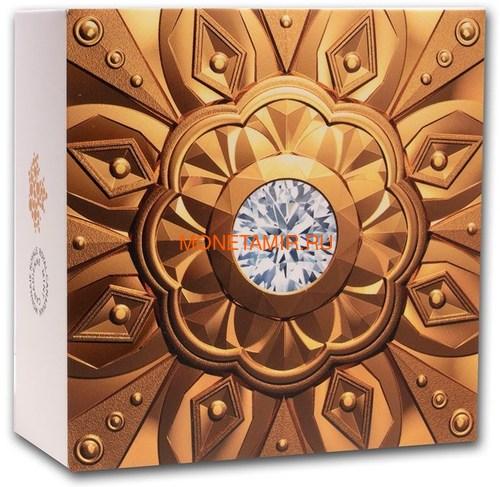 Канада 200 долларов 2020 Бриллиант Черная Метка Круг ( Canada 200$ 2020 Forevermark Black Label Round Diamond 1oz Gold Coin ).Арт.92 (фото, вид 5)