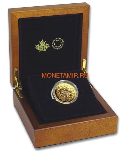 Канада 200 долларов 2019 Бриллиант Черная Метка Квадрат ( Canada 200$ 2019 Forevermark Black Label Square Diamond 1oz Gold Coin ).Арт.92 (фото, вид 3)