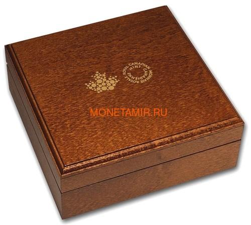 Канада 200 долларов 2019 Бриллиант Черная Метка Квадрат ( Canada 200$ 2019 Forevermark Black Label Square Diamond 1oz Gold Coin ).Арт.92 (фото, вид 4)
