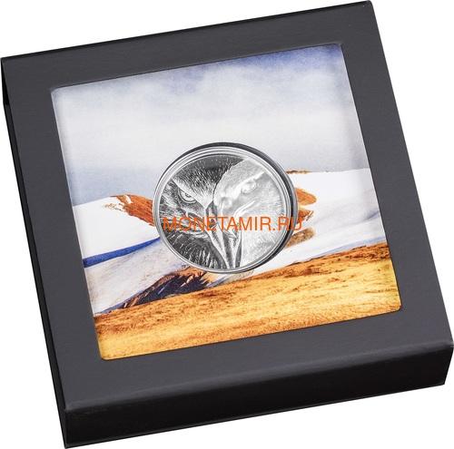 Монголия 500 тугриков 2020 Величественный Орел ( Mogolia 500T 2020 Majestic Eagle 1oz Silver Coin ).Арт.92 (фото, вид 5)
