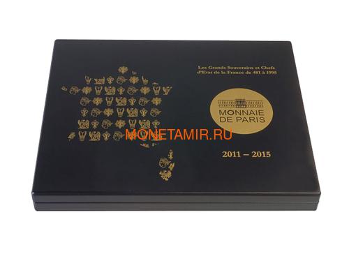 Франция 50 евро 2011-2015 Короли и Президенты Набор 15 Золотых Монет ( France 50 Euro 2011-2015 From Clovis to the Republic 15 Coins Set Gold ).Арт.92 (фото, вид 6)