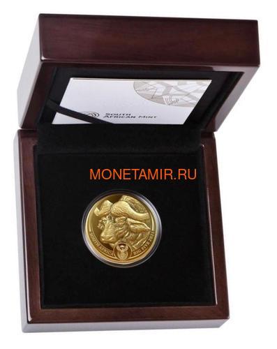 Южная Африка 50 рандов 2021 Буйвол Большая Африканская Пятерка (South Africa 50 Rand 2021 Buffalo Big Five 1oz Gold Coin).Арт.92 (фото, вид 2)