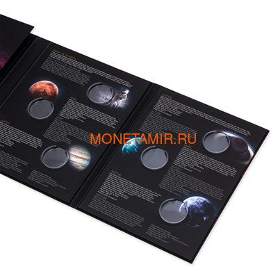 Ниуэ 1 доллар 2020 Солнечная Система Марс (Niue 1$ 2020 Solar System Mars 1Oz Silver Coin).Арт.CZ/92 (фото, вид 9)