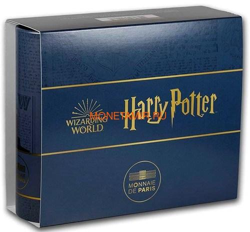 Франция 10 евро 2021 Гарри Поттер Хедвиг Букля Полярная Сова ( France 10 euro 2021 Harry Potter Hedwig Owl Silver Coin ).Арт.90 (фото, вид 4)