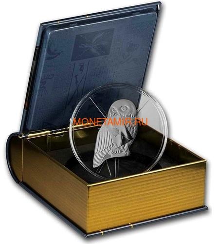 Франция 10 евро 2021 Гарри Поттер Хедвиг Букля Полярная Сова ( France 10 euro 2021 Harry Potter Hedwig Owl Silver Coin ).Арт.90 (фото, вид 2)