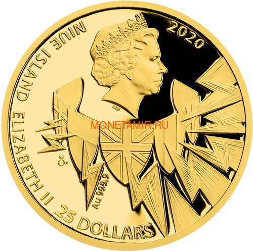 Ниуэ 4х25 долларов 2020 Великая Отечественная Война 1940 год Набор Золотых Монет Нарвик Франция Операция Динамо Британия Корабль Самолет Танк (Niue 4х25$ 2020 Set Gold Coins War 1940 Narvik France Operation Dynamo Britain).Арт.K5G/92 (фото, вид 5)