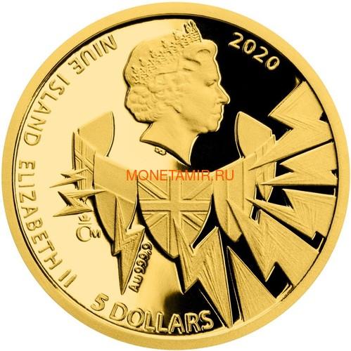 Ниуэ 4х5 долларов 2020 Великая Отечественная Война 1940 год Набор Золотых Монет Нарвик Франция Операция Динамо Британия Корабль Самолет Танк (Niue 4х5$ 2020 Set Gold Coins War 1940 Narvik France Operation Dynamo Britain).Арт.K1,46G/92 (фото, вид 5)