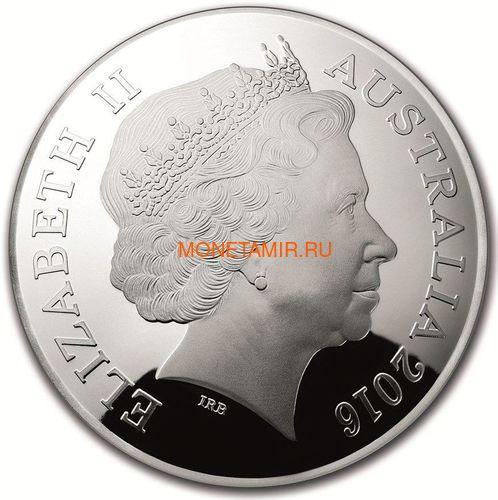 Австралия 5 долларов 2016 Созвездие Большая Медведица Северное Полушарие Выпуклая (Australia 5$ 2016 Northern Sky Ursa Major Domed 1oz Silver Coin).Арт.60 (фото, вид 2)