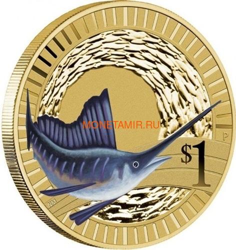 Австралия 1$ 2012 Животные Атлеты Набор 6 Монет (Australia 2012 1$ Animal Athletes Young Collectors Coin Collection).Арт.92 (фото, вид 4)