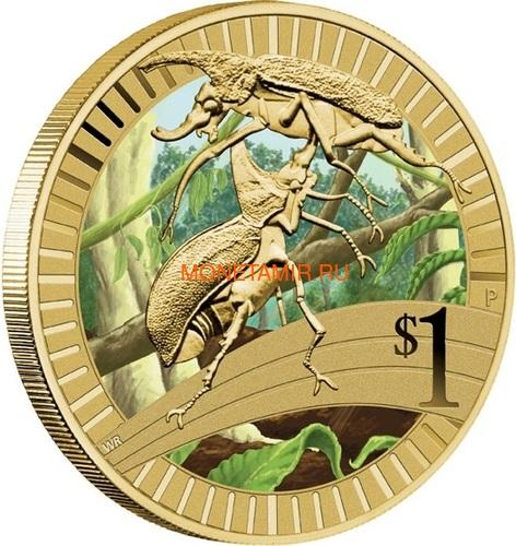 Австралия 1$ 2012 Животные Атлеты Набор 6 Монет (Australia 2012 1$ Animal Athletes Young Collectors Coin Collection).Арт.92 (фото, вид 6)