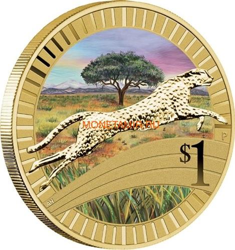 Австралия 1$ 2012 Животные Атлеты Набор 6 Монет (Australia 2012 1$ Animal Athletes Young Collectors Coin Collection).Арт.92 (фото, вид 8)