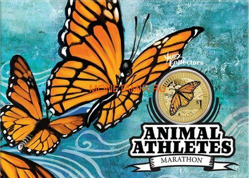 Австралия 1$ 2012 Животные Атлеты Набор 6 Монет (Australia 2012 1$ Animal Athletes Young Collectors Coin Collection).Арт.92 (фото, вид 9)