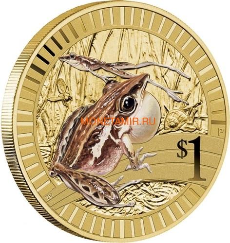 Австралия 1$ 2012 Животные Атлеты Набор 6 Монет (Australia 2012 1$ Animal Athletes Young Collectors Coin Collection).Арт.92 (фото, вид 12)