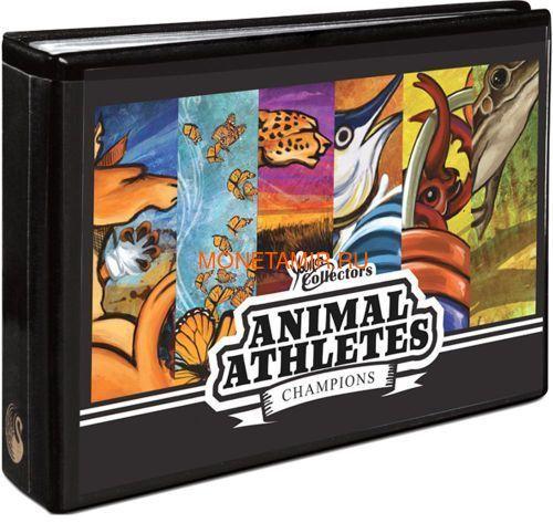 Австралия 1$ 2012 Животные Атлеты Набор 6 Монет (Australia 2012 1$ Animal Athletes Young Collectors Coin Collection).Арт.92 (фото, вид 14)