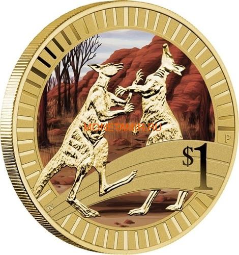 Австралия 1$ 2012 Животные Атлеты Набор 6 Монет (Australia 2012 1$ Animal Athletes Young Collectors Coin Collection).Арт.92 (фото, вид 2)