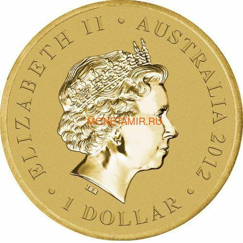 Австралия 1$ 2012 Животные Атлеты Набор 6 Монет (Australia 2012 1$ Animal Athletes Young Collectors Coin Collection).Арт.92 (фото, вид 13)