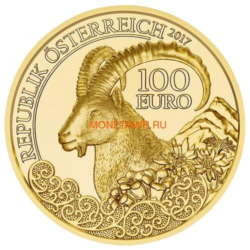 Австрия 100 евро 2013-2018 Дикая Природа Красный Олень Кабан Глухарь Лиса Горный Козел Утка Набор 6 монет (Austria 100E Wildlife in our Sights Gold Coin Set).Арт.92 (фото, вид 11)