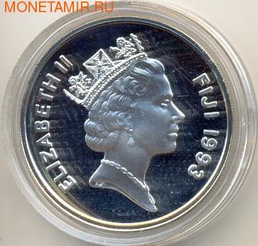 Фиджи 10 долларов 1993. Олимпийские игры 1996. (фото, вид 1)