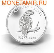 Канада 10 долларов 2011. Птица (фото, вид 1)