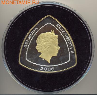 Бермуды 60 долларов 2006. Затонувшие сокровища (фото, вид 1)