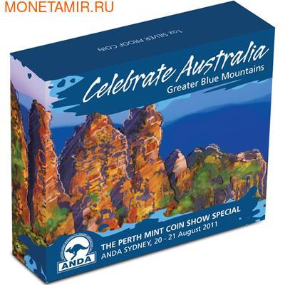 """Австралия 1 доллар 2011. """"Празднование Австралии"""" """"Сидней"""" """"Лягушка"""" (фото, вид 3)"""
