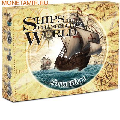 Тувалу 1 доллар 2011.Корабль - Санта Мария (SANTA MARIA) серия Корабли которые изменили мир.Арт.000340537590/60 (фото, вид 3)