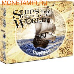 Тувалу 1 доллар 2012.Корабль - Мейфлауэр (Mayflower) серия Корабли которые изменили мир .Арт.000275836983/60 (фото, вид 3)