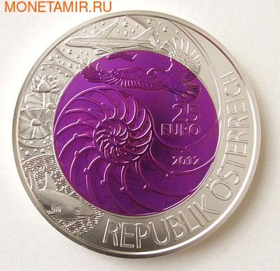 """Австрия 25 евро 2012. """"Бионика"""". (фото, вид 1)"""