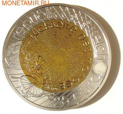 """Австрия 25 евро 2009. """"Всемирный год астрономии"""". (фото, вид 1)"""