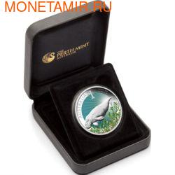 Австралия 1 доллар 2012. Залив Акул (фото, вид 2)