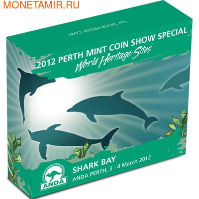 Австралия 1 доллар 2012. Залив Акул (фото, вид 3)