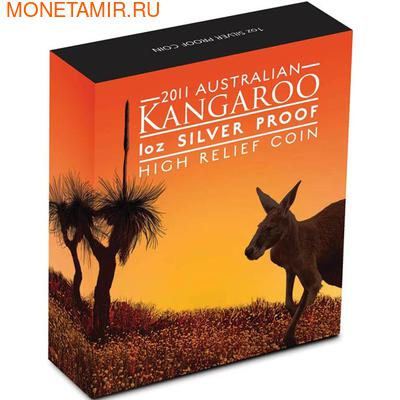 "Австралия 1 доллар 2011.""Кенгуру"". (фото, вид 3)"