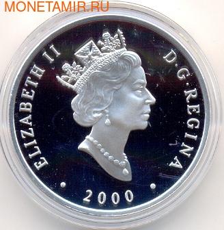 """Канада 20 долларов 2001. Паровоз """"Toronto"""". (фото, вид 1)"""