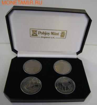 4 coin Set Animals Dimond eyes (фото, вид 2)