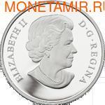 Канада 15 долларов 2013. Год Змеи (фото, вид 1)