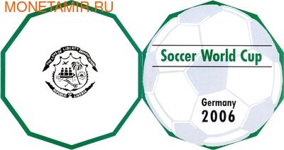 Либерия 100 долларов 2006 Футбол Чемпионат Мира Германия 2006 (Пазл).Арт.009054240302/60 (фото, вид 4)