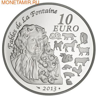Франция 10 евро 2013. Год Змеи (фото, вид 1)