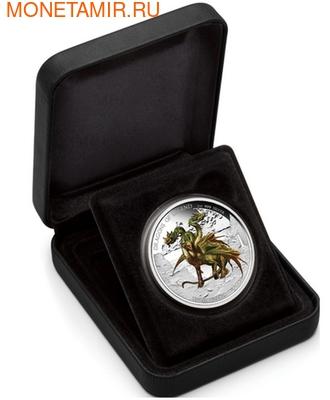 Тувалу 1 доллар 2013.Дракон Трёхглавый - Драконы из легенд.Арт.000334845517/60 (фото, вид 2)