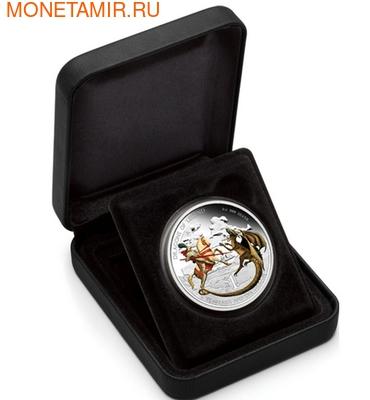 Тувалу 1 доллар 2012.Святой Георгий с Драконом - Драконы из легенд.Арт.000322941098/60 (фото, вид 2)