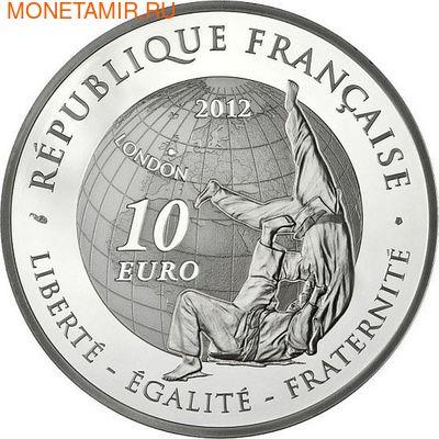 Франция 10 евро 2012. Дзюдо-Олимпийские игры (фото, вид 1)