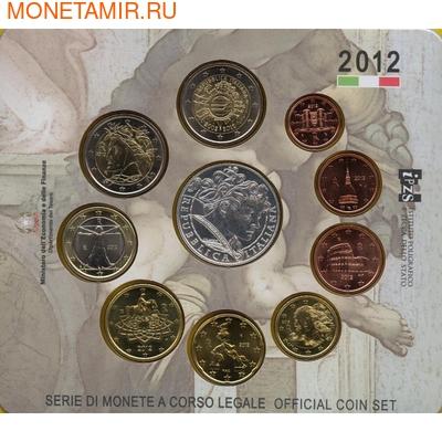 Годовой набор евро-Италия 2012 (фото, вид 1)