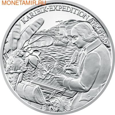 """Австрия 20 евро 2011. """"Европейские исследователи""""-""""Николаус Жакен"""" (фото, вид 1)"""