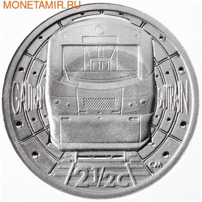 Южная Африка 2 ранда + 2,5 цента 2012 Железная дорога Гаутрайн – Поезда Южной Африки Набор из двух монет (Silver Proof Combo Set R2 and 2,5c 2012 South Africa Trains of South Africa Gautrain).Арт.000329939124/000079639126/60 (фото, вид 4)