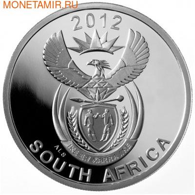 Южная Африка 10 центов 2012 Носорог – Парки Мира (South Africa 10c 2012 Peace Parks Great Mapungubwe Rhino).Арт.000188639132/60 (фото, вид 1)