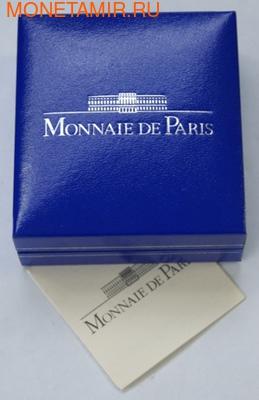 Франция 1/4 евро 2006. Год собаки. (фото, вид 3)